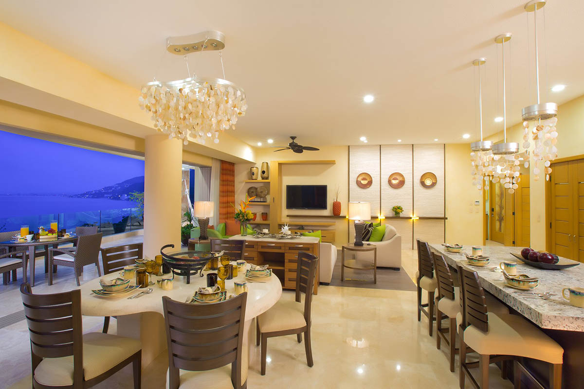 Construction, finishings and furniture at Garza Blanca Preserve