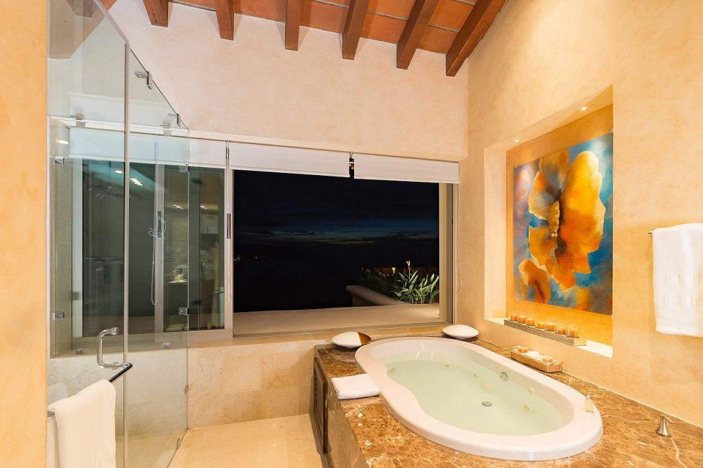 Spacious Bedrooms and Opulent Bathrooms
